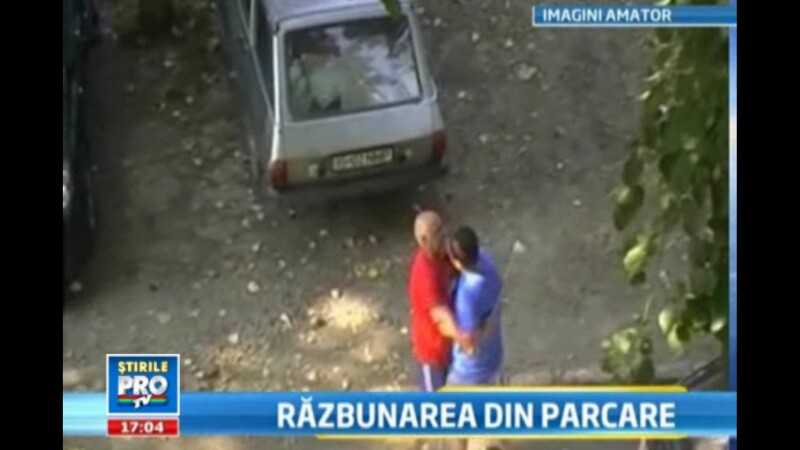 Bataie in parcare