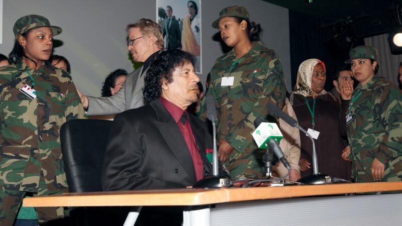 Muammar Ghaddafi si femeile virgine din garda de corp