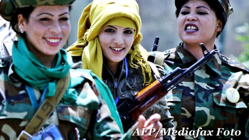 femei Libia