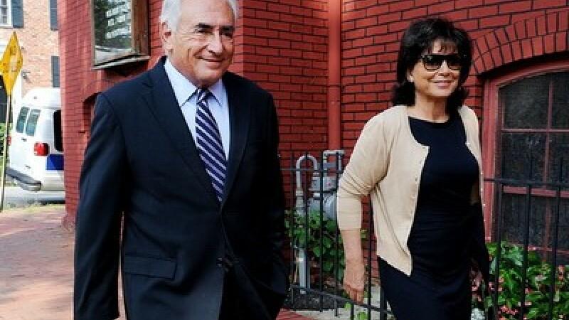 Anne Sinclair si Dominique Strauss-Kahn