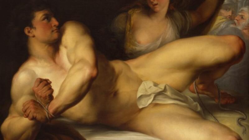 pictura, Samson si Dalila