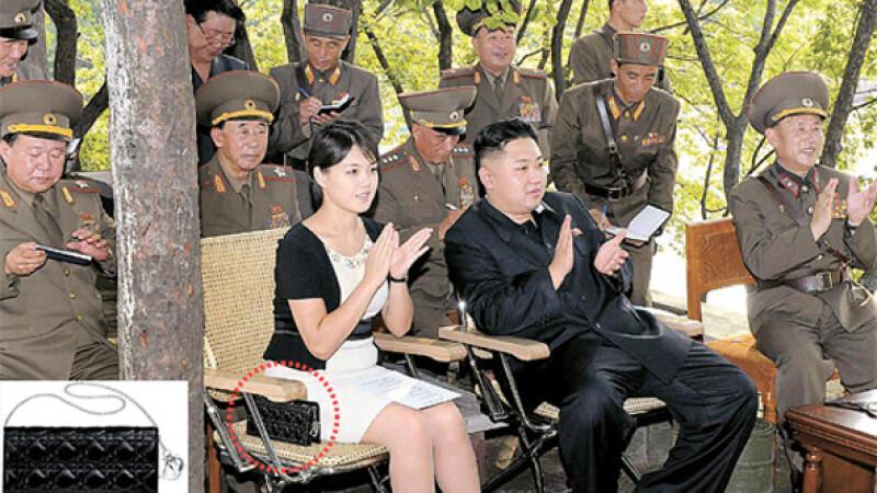 Sotia lui Kim Jong-un are un accesoriu care costa cat un salariu mediu pe un an in Coreea de Nord