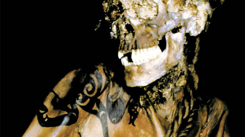 mumie, Siberia, tatuaj