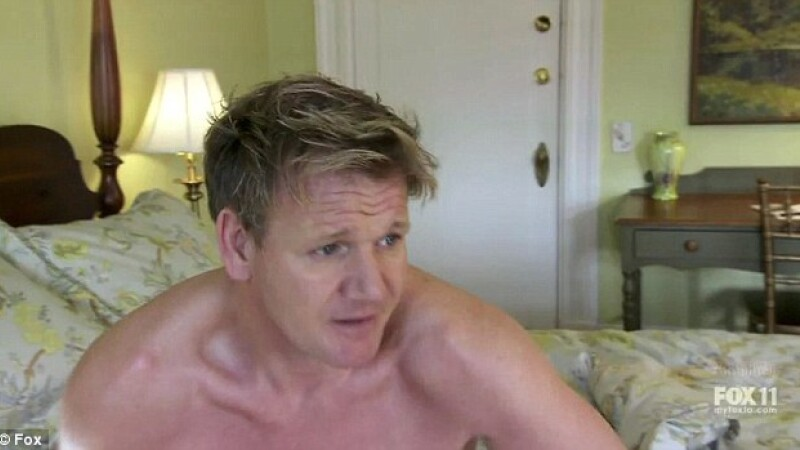 Gordon Ramsay dezbracat