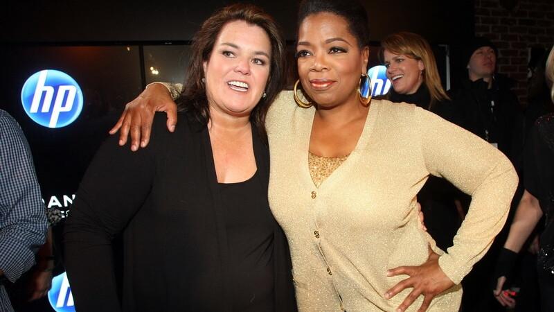 Rosie O'Donnell si Oprah