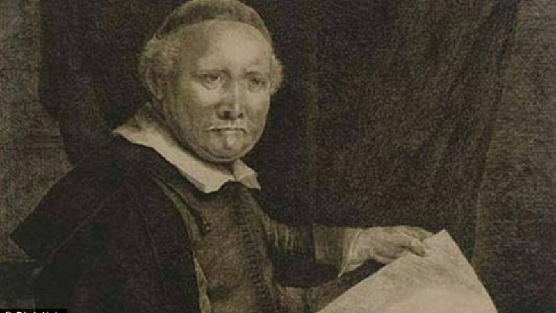 gravura de Rembrandt