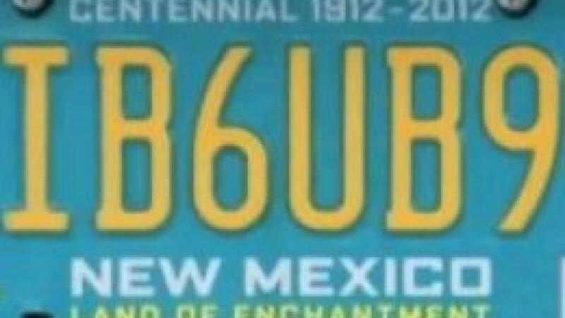 Autoritatile americane i-au interzis unui cetatean sa circule cu acest numar, pe motiv ca e obscen