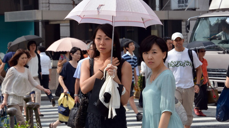 canicula Japonia