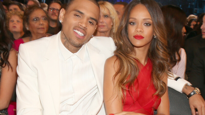 Chris Brown si Rihanna