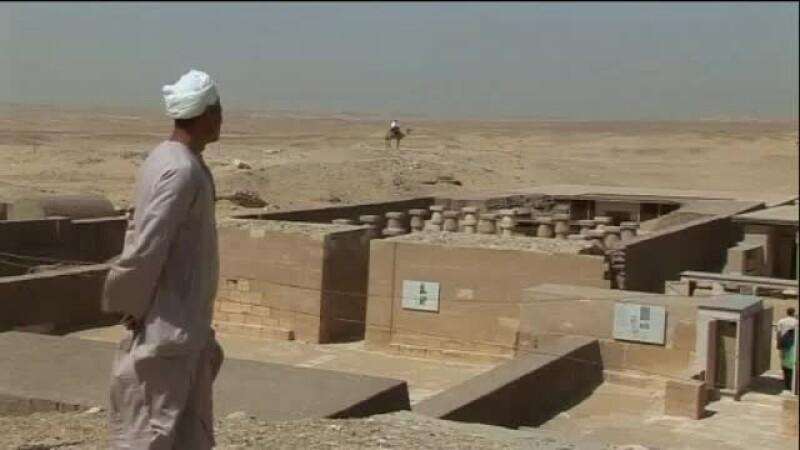 turism, Egipt, ruine