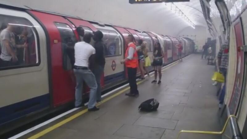 Panica metrou Londra