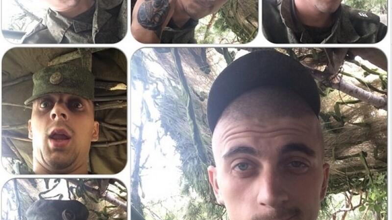 Ar putea fi dovada ca armata rusa a trecut frontiera ruso-ucraineana. Soldatii, dati de gol de geolocalizarea fotografiilor