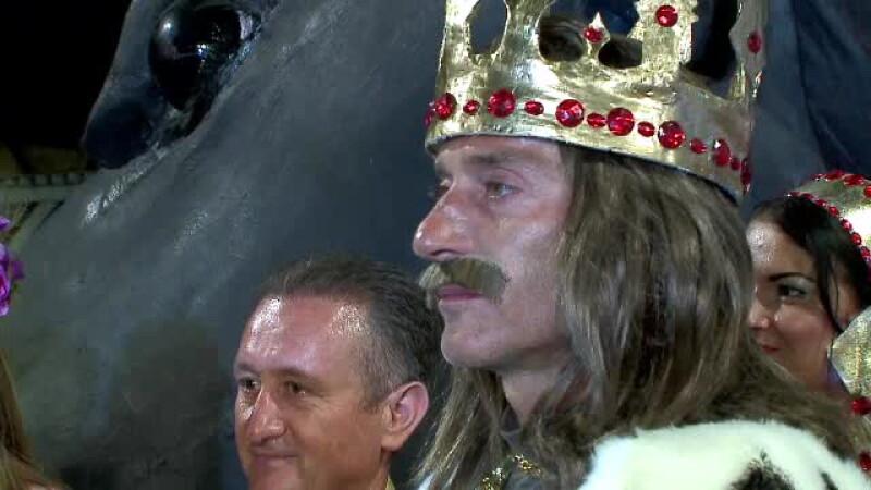Radu Mazare in rolul lui Stefan cel Mare