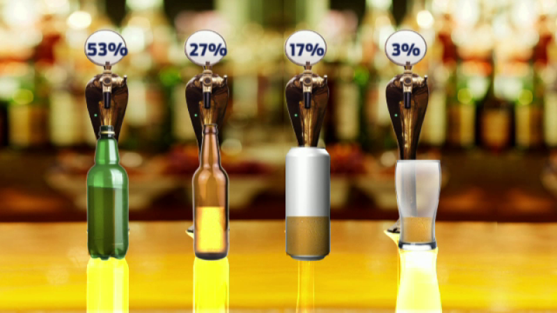 Ne intereseaza cantitatea, nu si calitatea. Romanii beau 81 de litri de bere pe an, cea mai multa ambalata in PET-uri