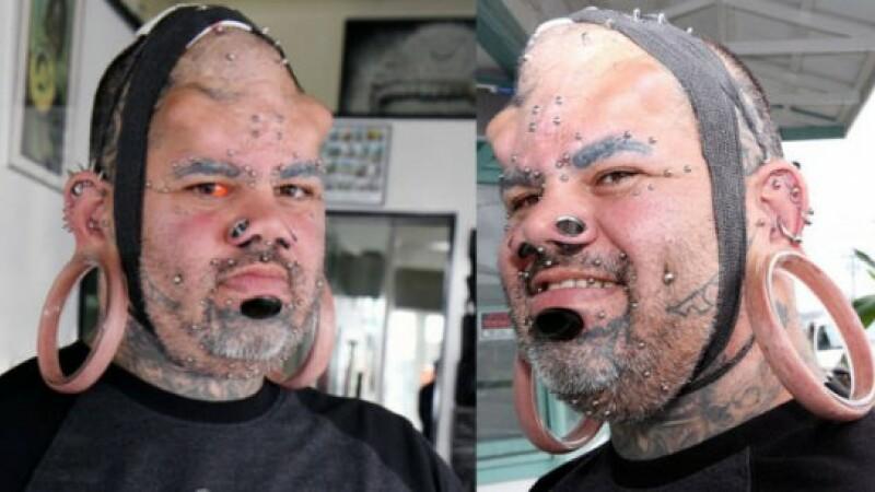 Un american a intrat in Cartea Recordurilor datorita gaurilor pe care le are in urechi. Cum arata barbatul. FOTO
