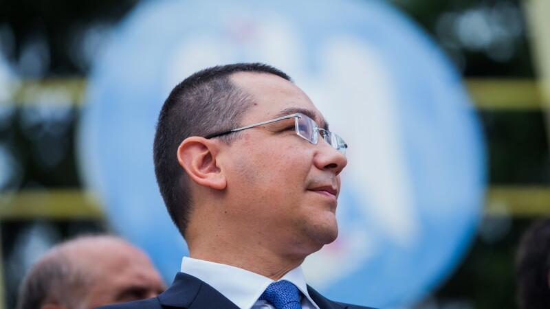 Primele explicatii ale lui Ponta despre ordonanta prin care poate renunta la titlul de doctor: