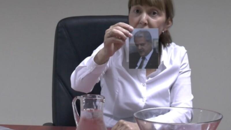 Monica Macovei si-a facut propriul Ice Bucket Challenge
