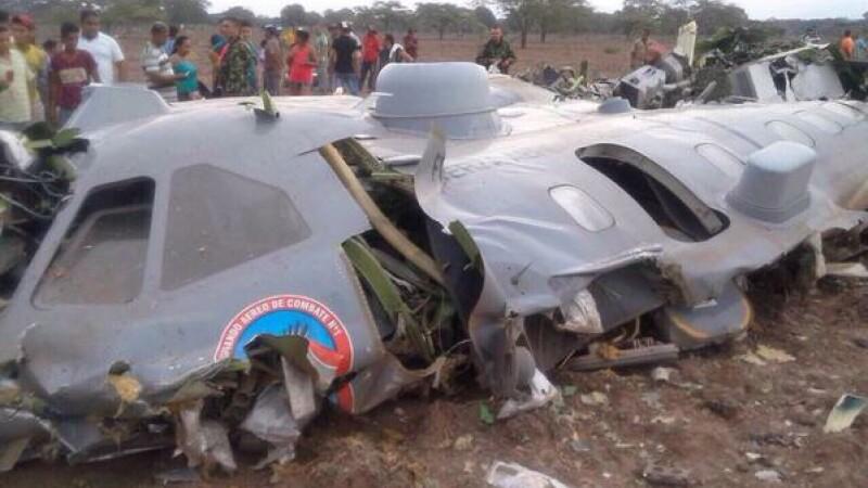 accident aviatic Columbia