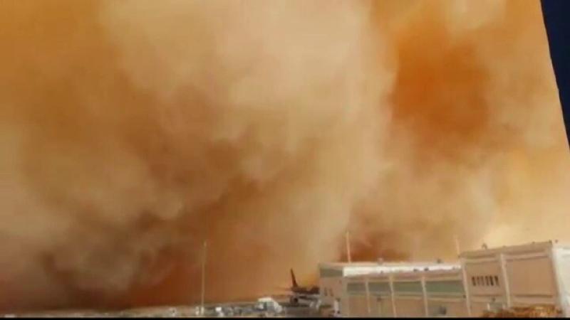 furtuna de nisip Iordania
