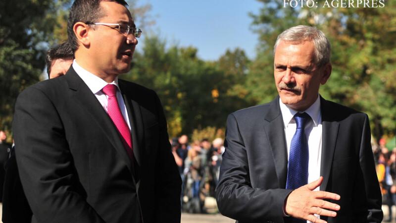 Victor Ponta si Liviu Dragnea in vizita in Moldova FOTO AGERPRES