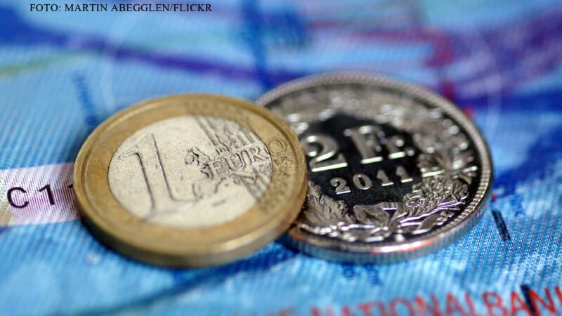 euro franci elvetieni FOTO FLICKR