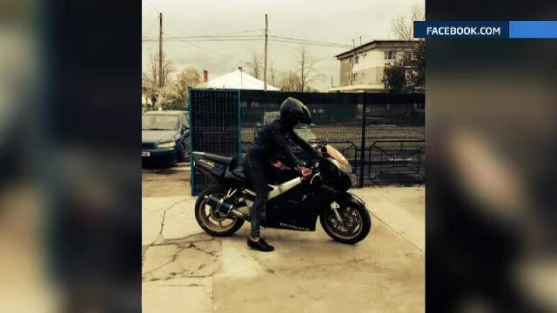 tanar, 22 de ani, motociclist