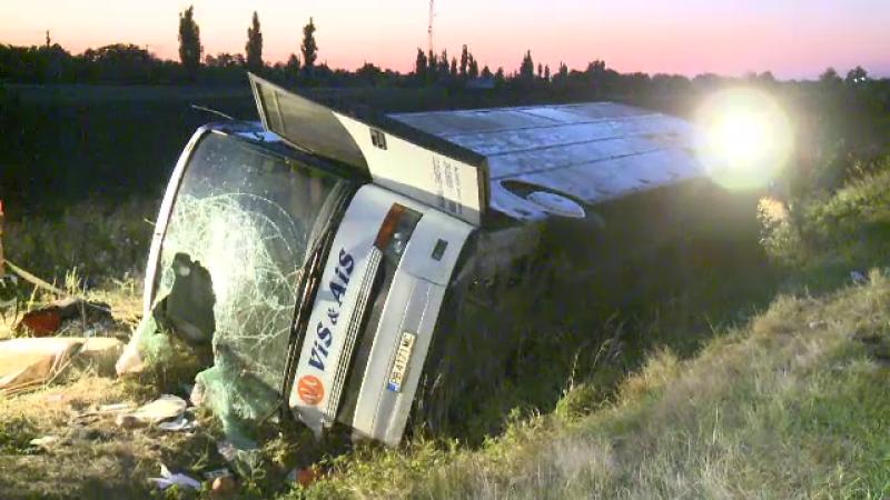 accident autocar ucraineni