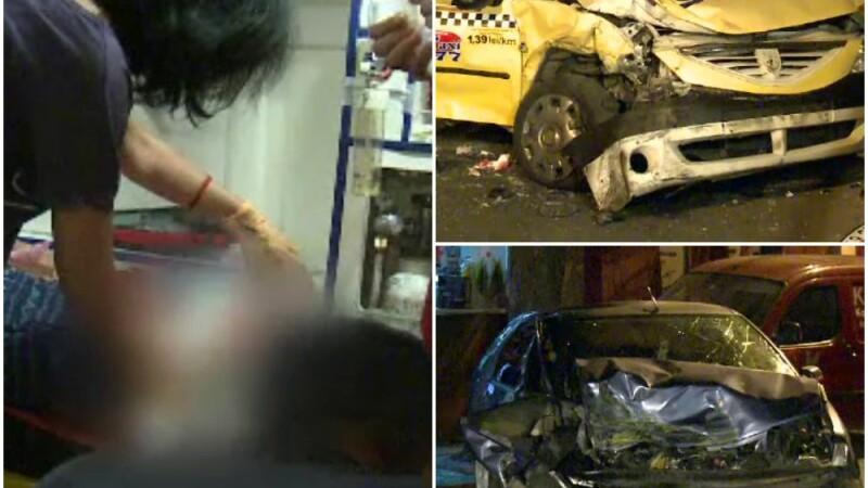 accident taxi Bucuresti