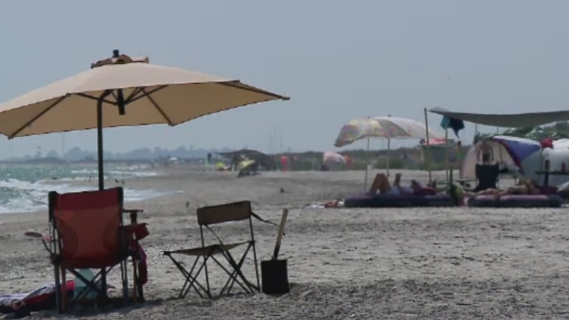 gunoaie plaja