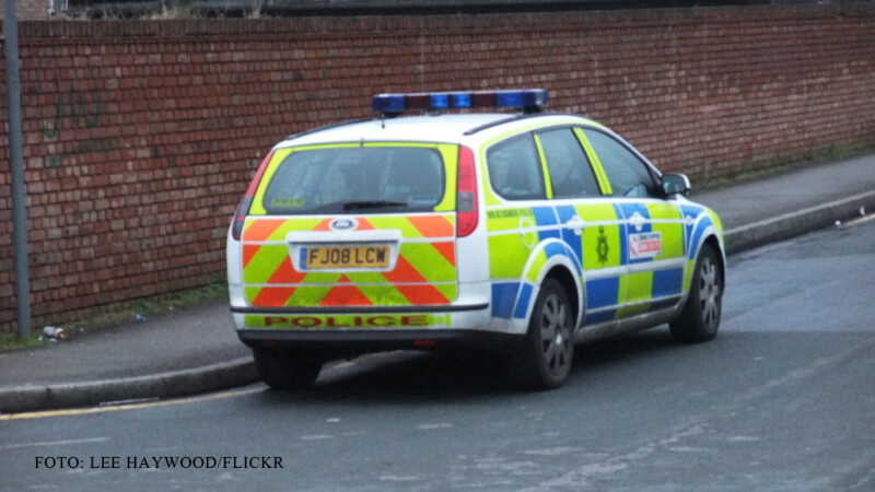 masina de politie in Marea Britanie