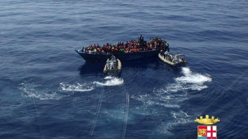 imigranti macedonia - italia - agerpres - 1