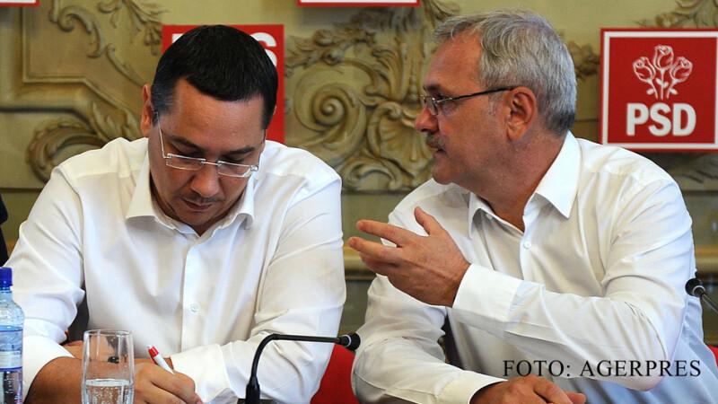 Victor Ponta si Liviu Dragnea