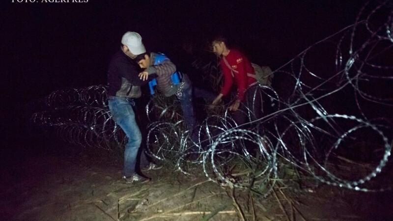 gardul Ungariei traversat de imigranti