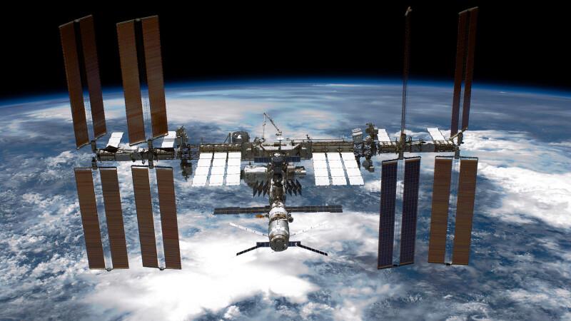 Când puteți vedea din România Stația Spațială Internațională