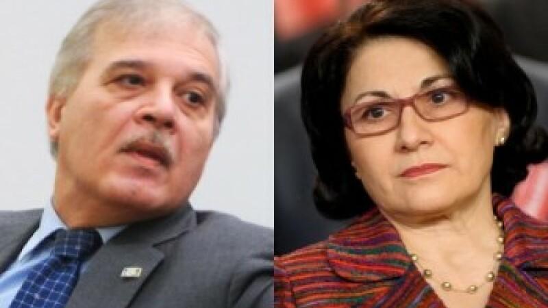 Ecaterina Andronescu si Alexandru Athanasiu, pot fi urmariti penal pentru coruptie