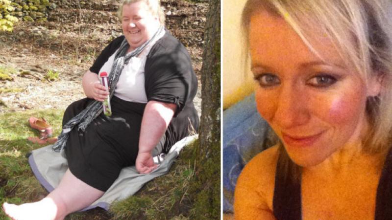 A slabit peste 90 de kilograme, iar acum este de nerecunoscut. Cum arata femeia in imagine completa