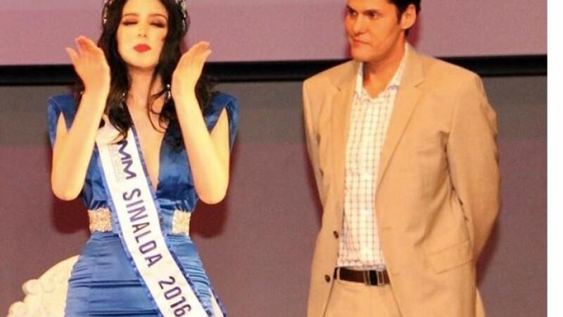 Miss Mexic si directorul concursului