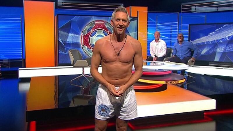 Comentatorul BBC, Gary Lineker a promis ca va aparea in chiloti la TV daca pierde pariul. De ce fanii au fost nemultumiti