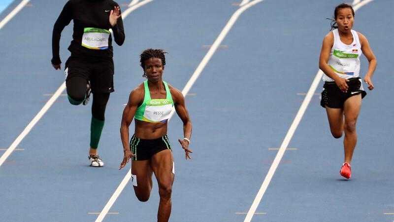 Kariman Abuljadayel, reprezentanta Arabiei Saudite la proba de 100m de la JO de la Rio 2016, a reusit sa ajunga pe locul 7