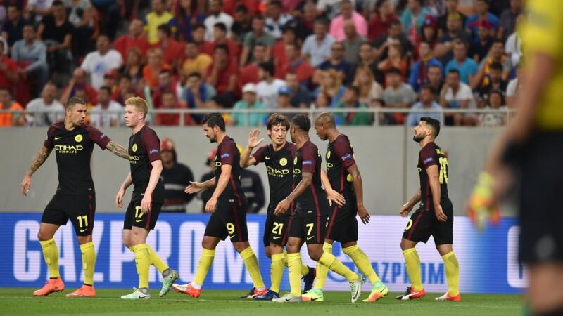 Manchester City pe National Arena, Agerpres