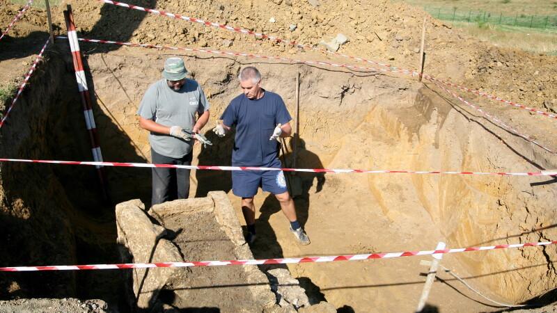 Descoperire arheologica importanta in Salaj, in fostul oras roman Porolissum: