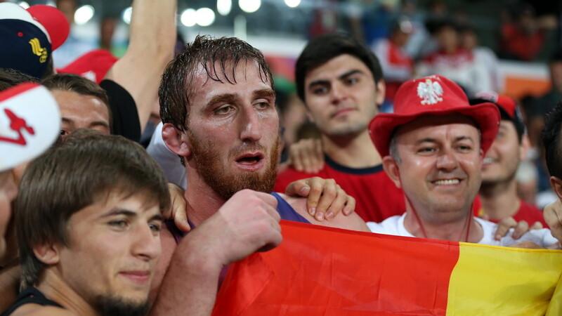 Un cecen a castigat bronzul pentru Romania la categoria 97 kg, lupte libere. Romania a incheiat JO pe locul 47 la medalii