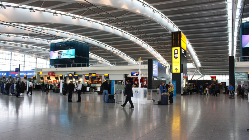 Aeroportul Heathrow - Shutterstock