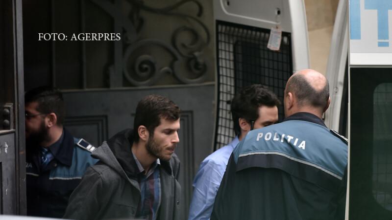 Ron Weiner si David Geclowicz, angajati ai firmei israeliene Black Cube, arestati preventiv in dosarul de hartuire a procurorului sef al DNA, Laura Codruta Kovesi, pleaca de la Curtea de Apel Bucuresti