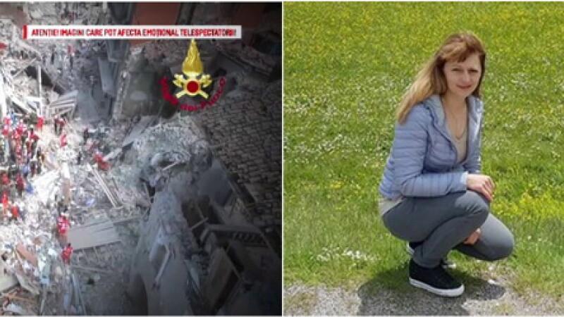 Cinci romani au murit in cutremurul din Italia, 18 sunt dati disparuti. \