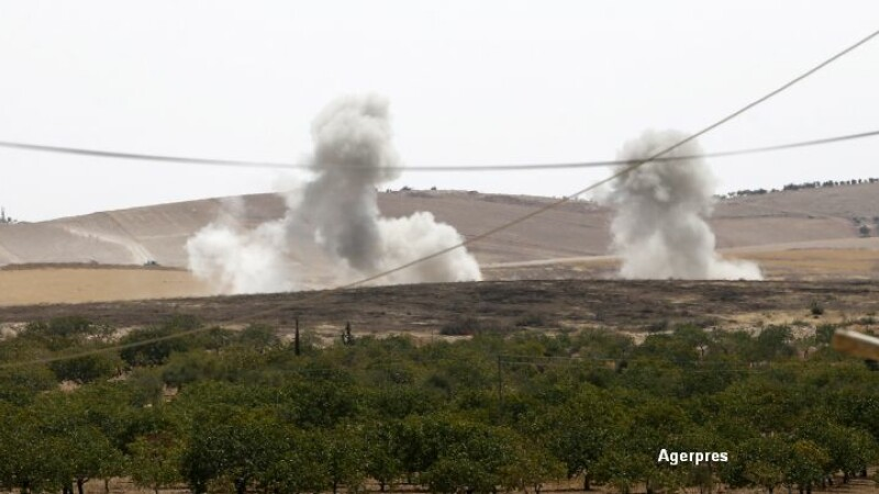 Operatiune militara fara precedent a Turciei in Siria. Raiduri aeriene si tancuri care continua sa avanseze