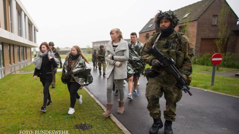 militar german si civili