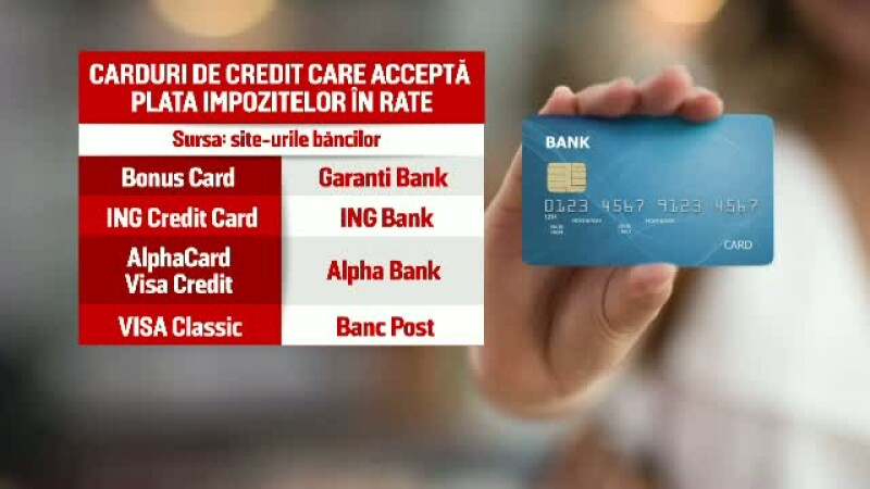 Rate card credit