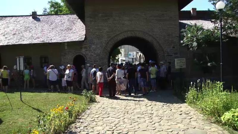 Turiști basarabeni în Târgoviște