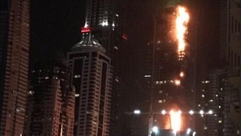 Incendiu zgârie nori Dubai